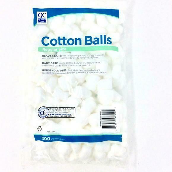 Cotton Balls Regular Size QC