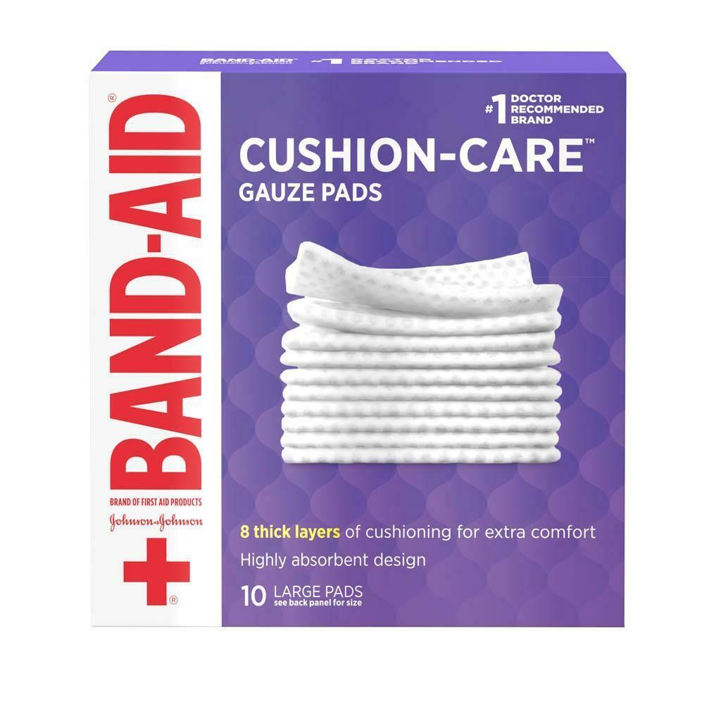 Gazas Band-Aid Large Pads