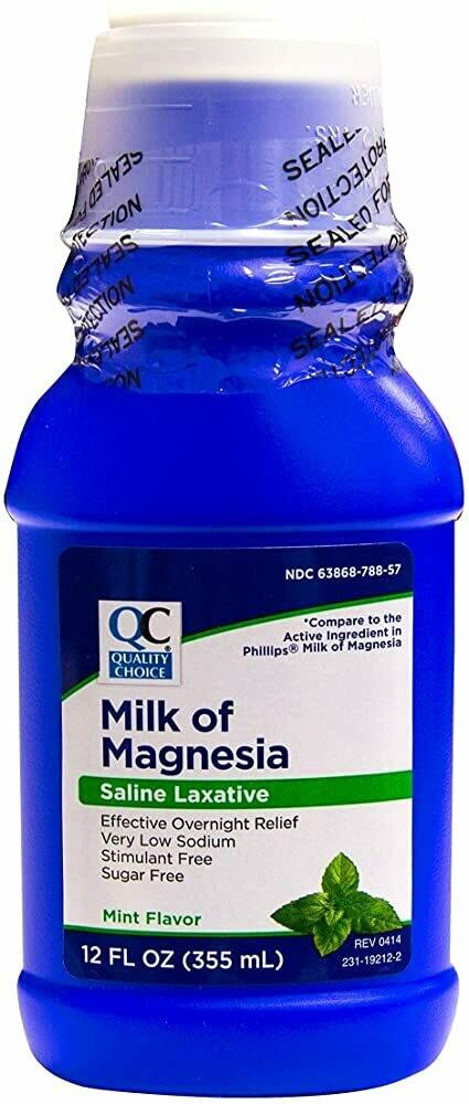 Leche Magnesia  Cool Mint QC
