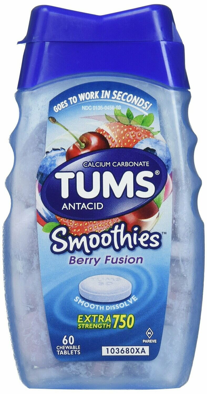 Tums Smoothies Berry