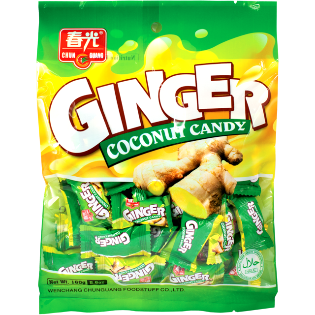 Ginger Coconut Candy