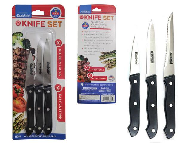 Cuchillo 3 piezas