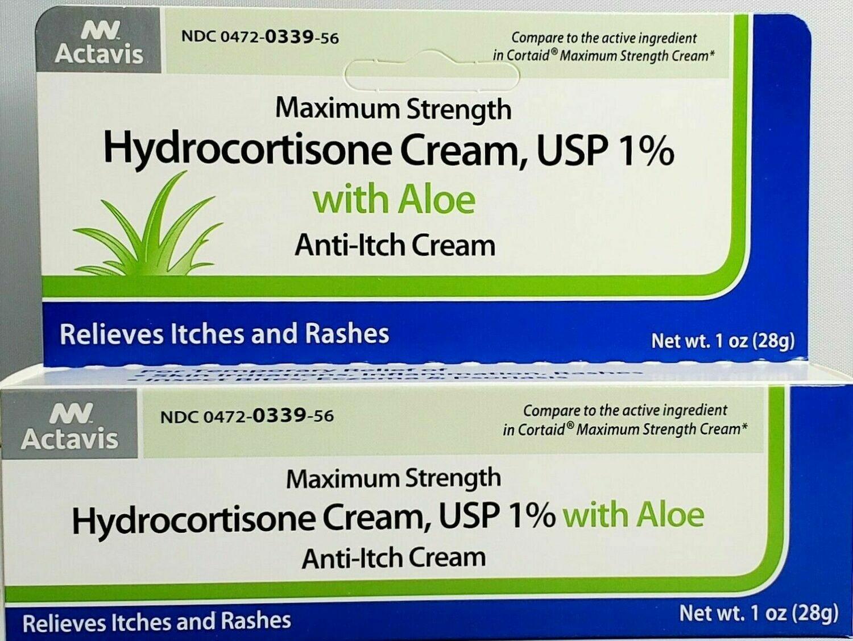 Hydrocortisone Cream con Aloe