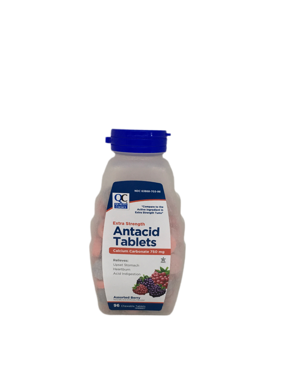 QC Antacid Extra Strength Tablets