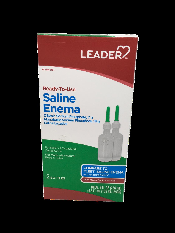 Leader Saline Enema