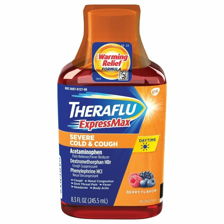 Theraflu Express Max Severe Cold & Cough