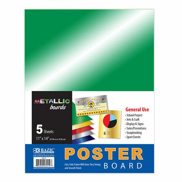 Poster Board Metallic