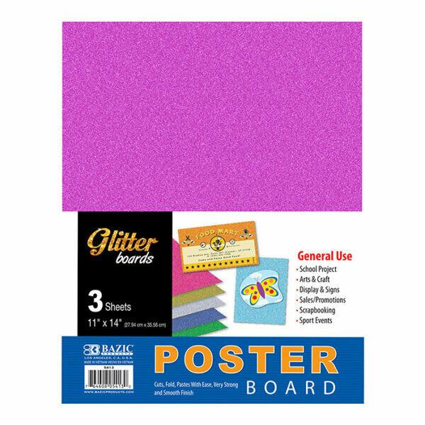 Poster Board Glitter