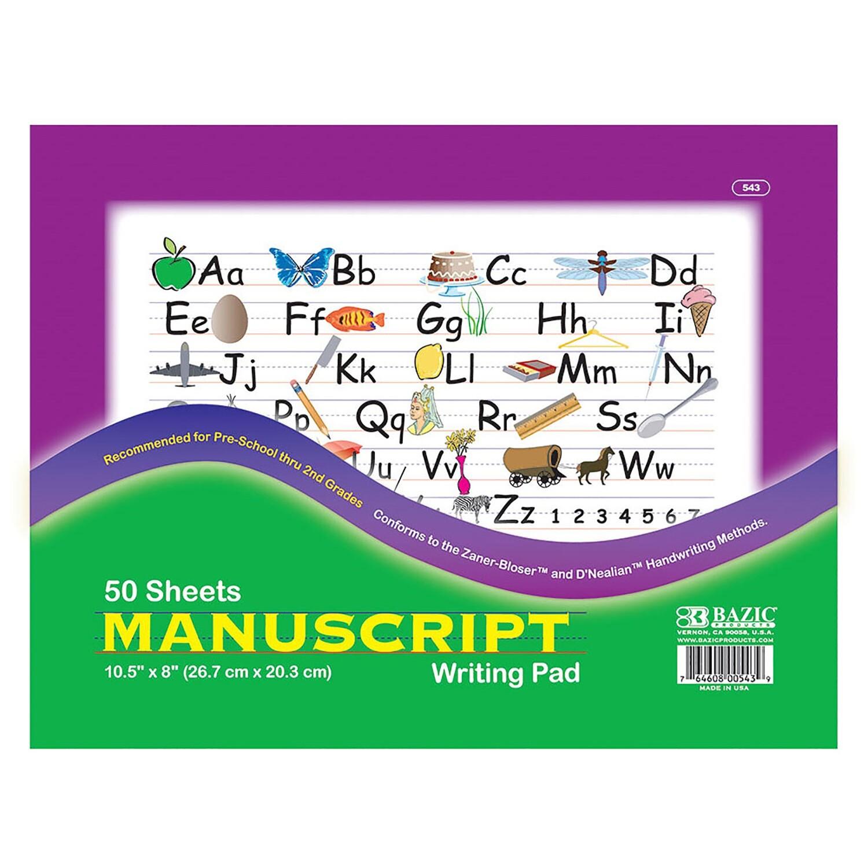 Libreta de escritura manuscrita