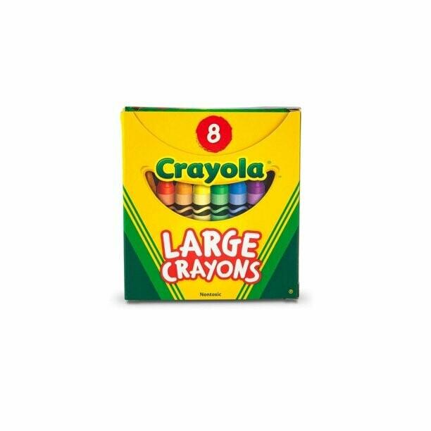 Large Crayons 8