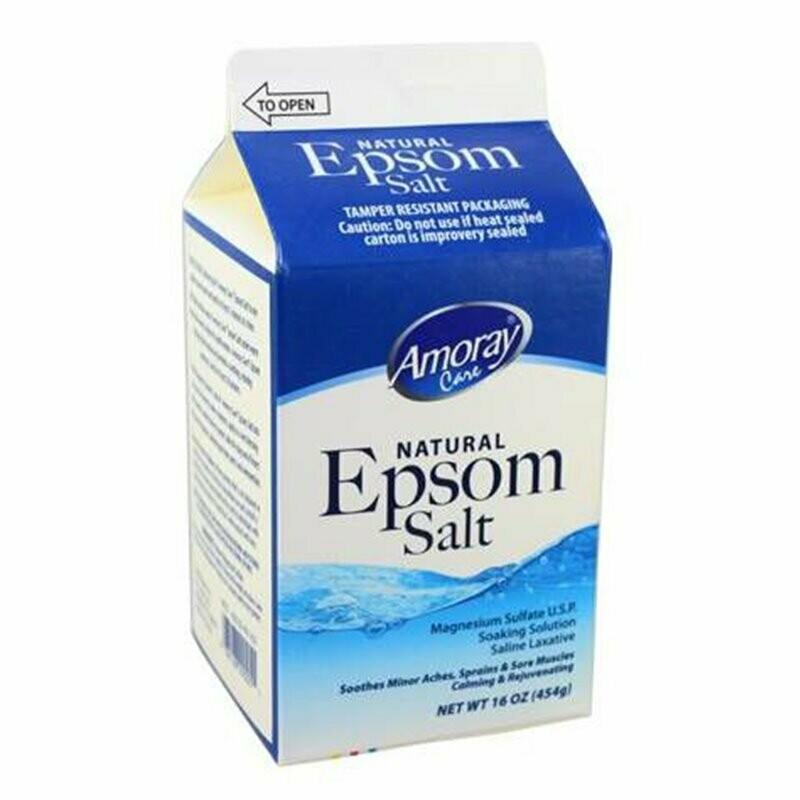 Epsom Salt Amoray Care 16 onz
