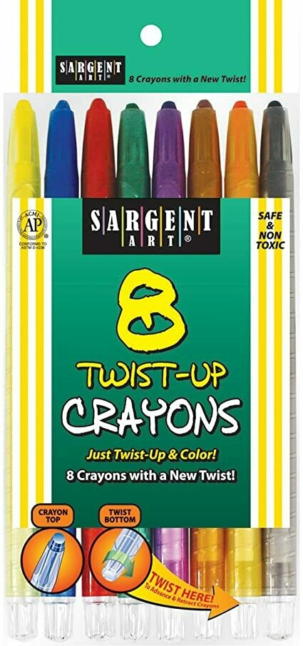 Crayola Twist-Up Sargent Art