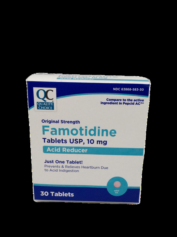 QC Famotidine 10 mg