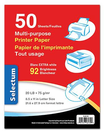 Printer Paper White