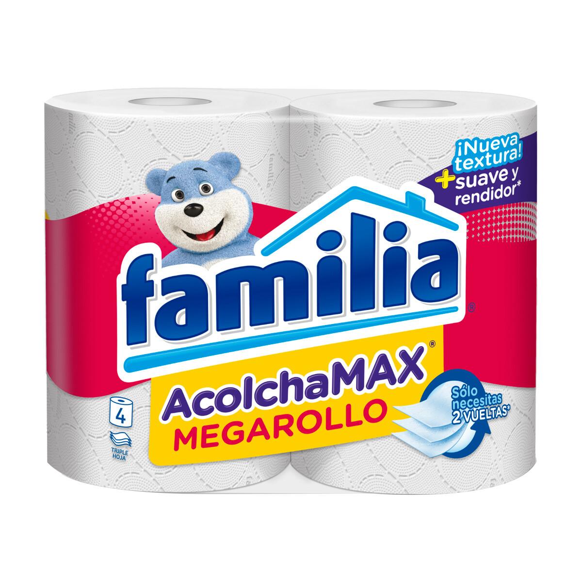 Papel Higiénico Familia Acolcha Max Mega Rollo