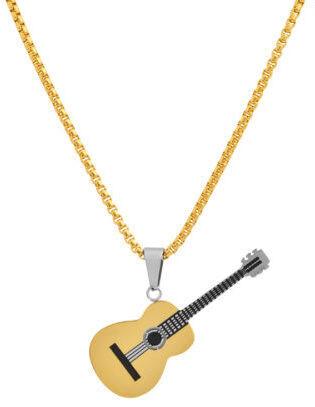 Collar con pendant de guitarra