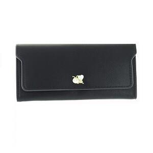 Wallet negra broche de abeja