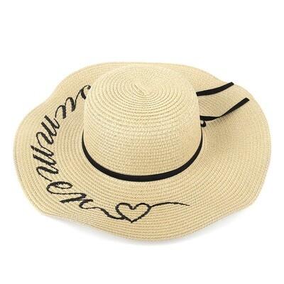 Sombrero de Playa Beige