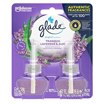 Tranquil Lavender & Aloe Glade PlugIns Scented Oil