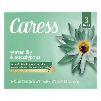 Jabón Caress Water Lily & Eucalyptus