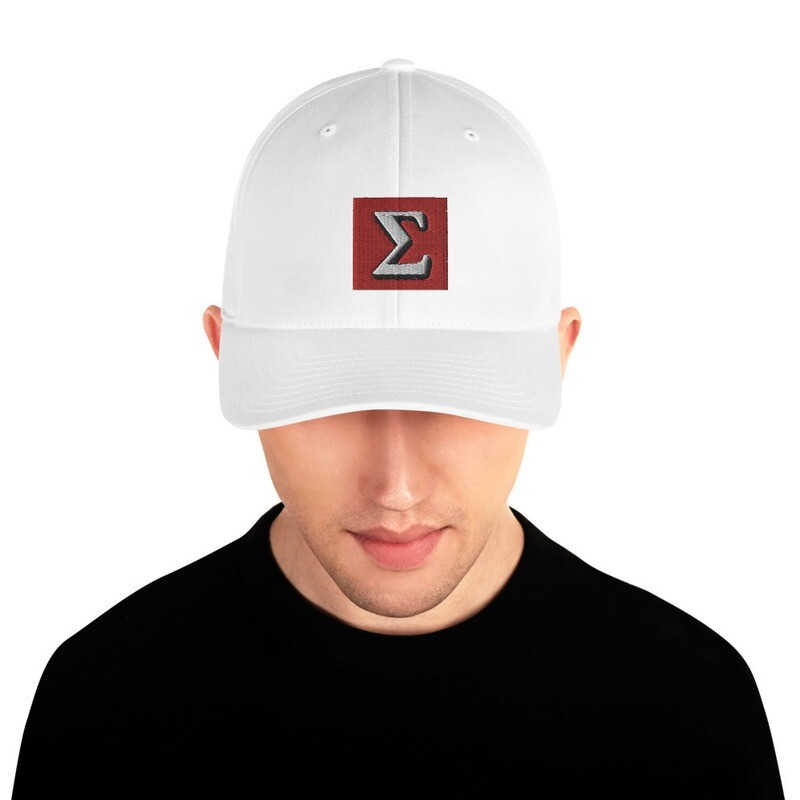 HMD Sigma Collection Structured Twill Cap