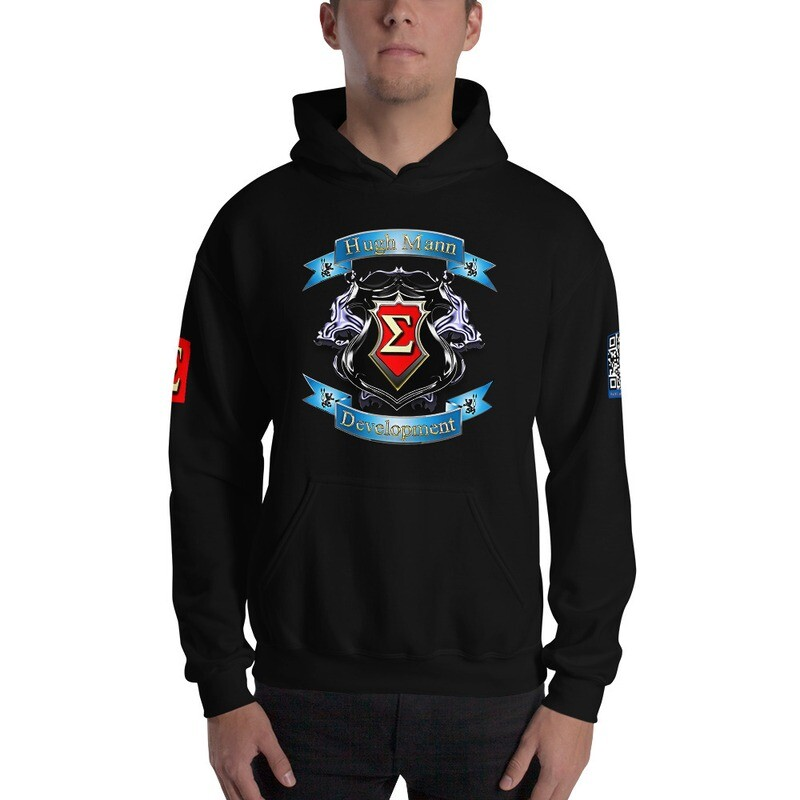 Hugh Mann Development Signature Collection Hoodie Pullover by Evolved Attitude