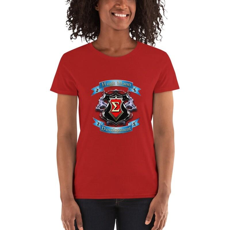 Hugh Mann Development Signature Collection Women's short sleeve T-Shirt by Evolved Attitude