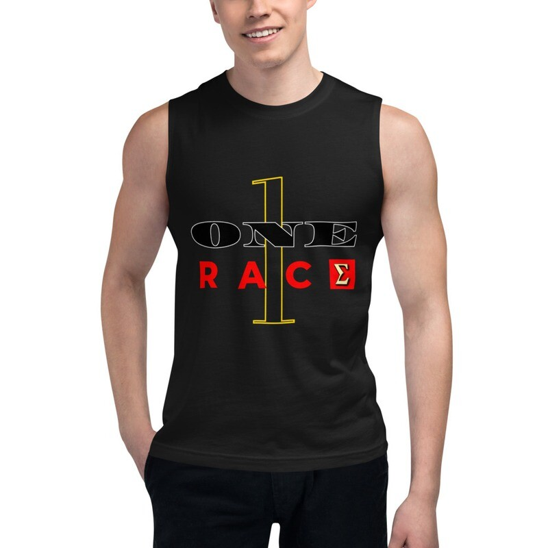 One Race New Year's Day Muscle Shirt by Evolved Attitude
