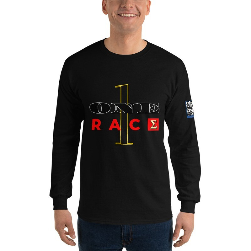 One Race New Year's Day Long Sleeve Shirt by Evolved Attitude