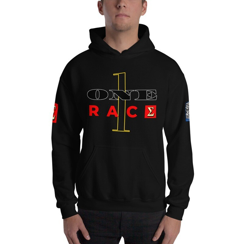One Race New Year's Eve Hoodie pullover by Evolved Attitude