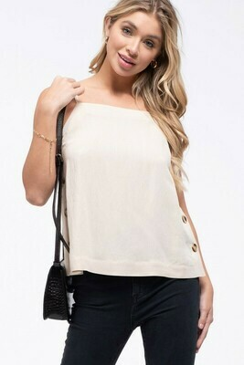 Side Button Cami