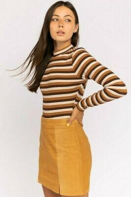 Brown Multi Bodysuit