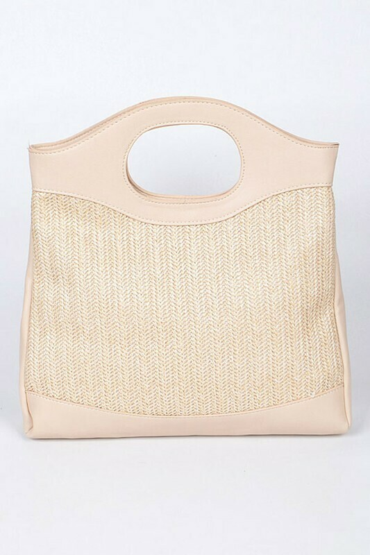 Ivory Straw Bag