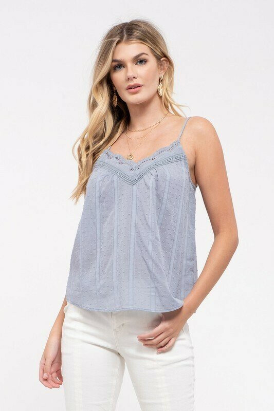 Powder Blue Cami