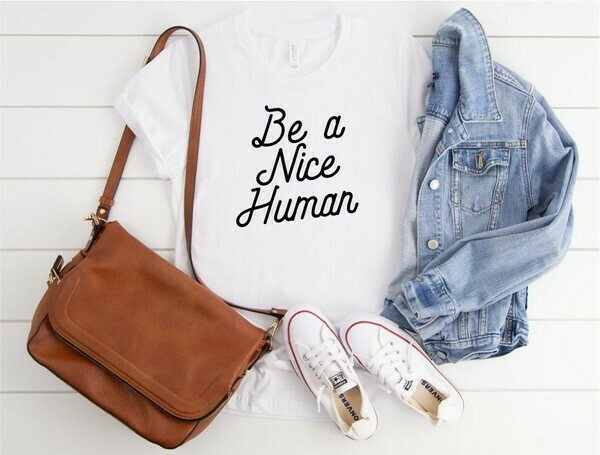 Nice Human Tee