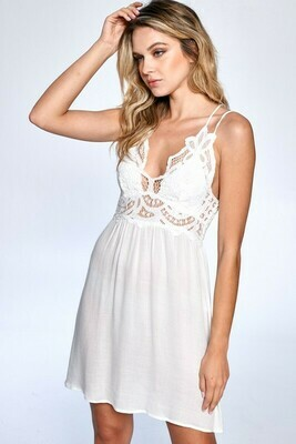 Bralette Slip Dress