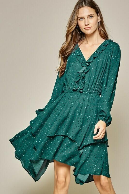 Emerald Long Sleeve Dress