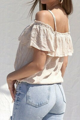 Textured OTS Top