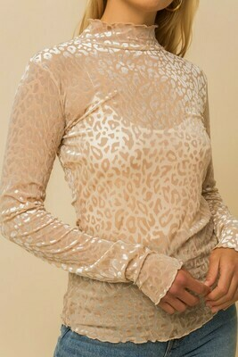 Velvet Leopard Shirt