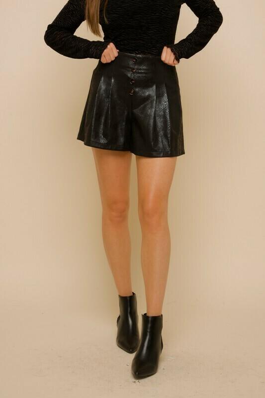Black Snake Shorts