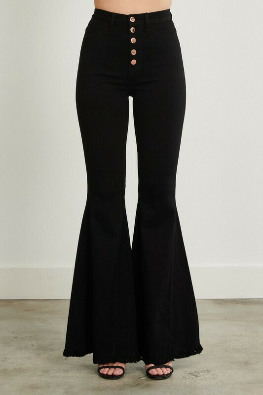 Black Bellbottoms