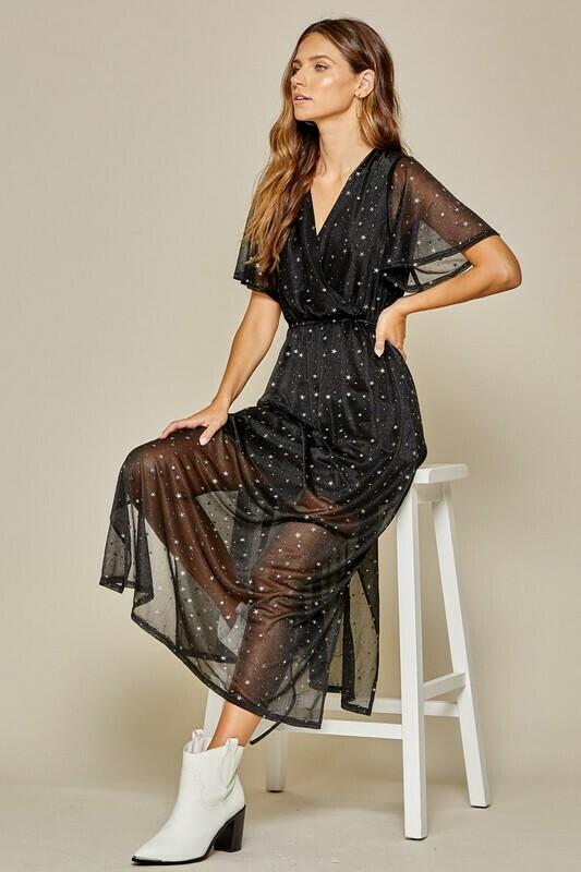 Star Maxi Dress