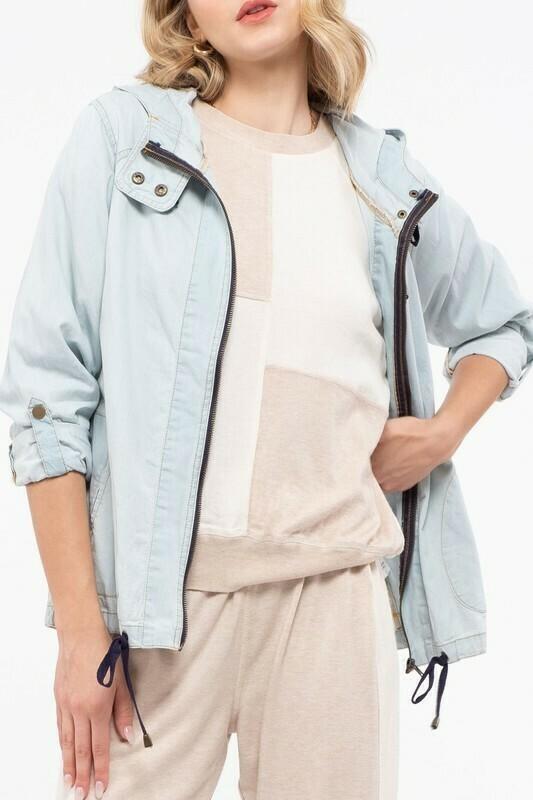 Chambray Jacket