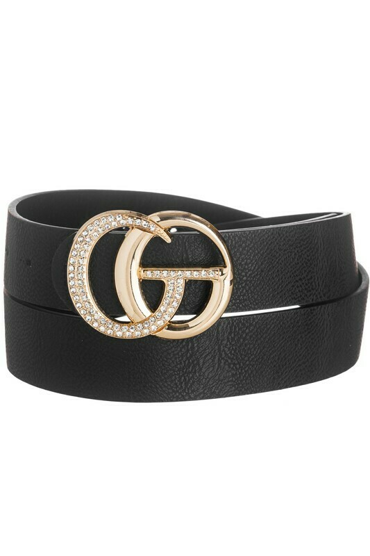 Interlocking Rhinestone Belt