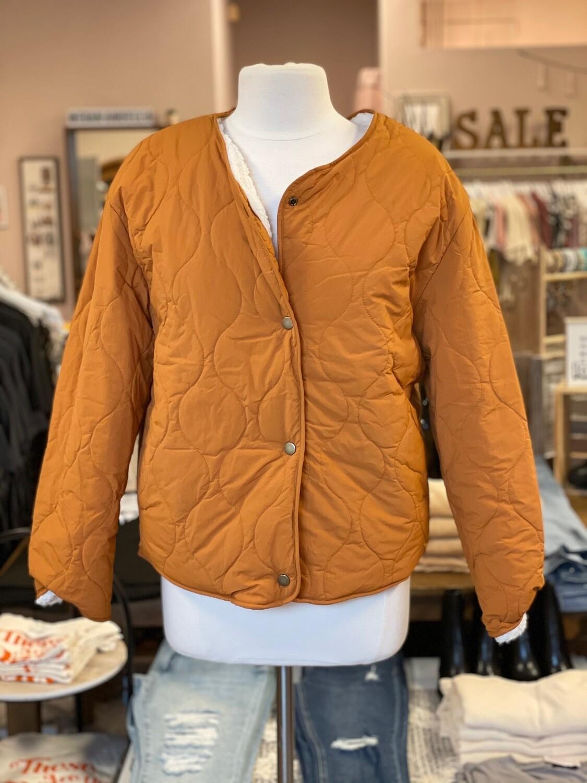Reversible Sherpa Coat
