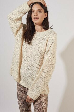 Chunky Ivory Sweater
