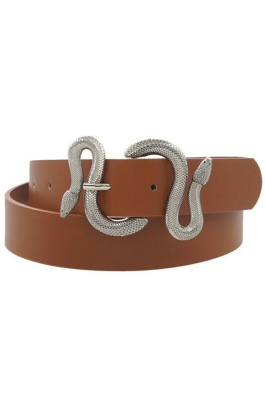 Snake Buckle Belt