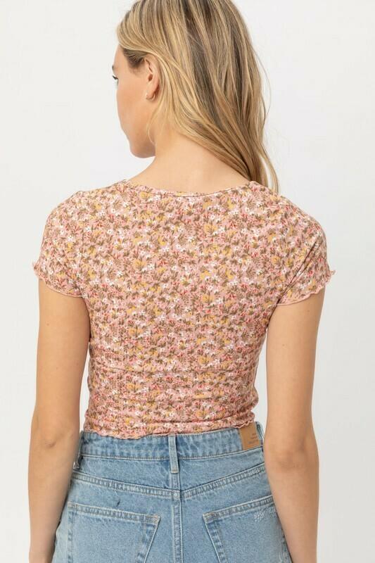 Dainty Floral Shirt