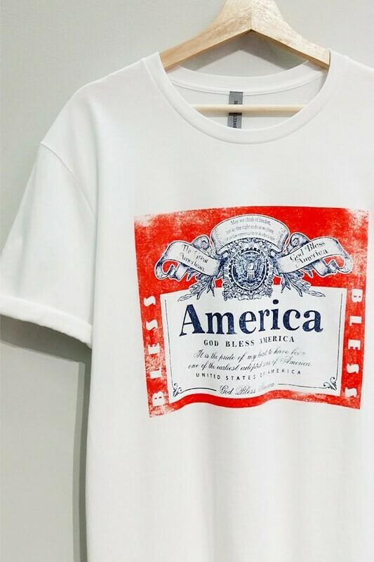 Cheers to America Tee