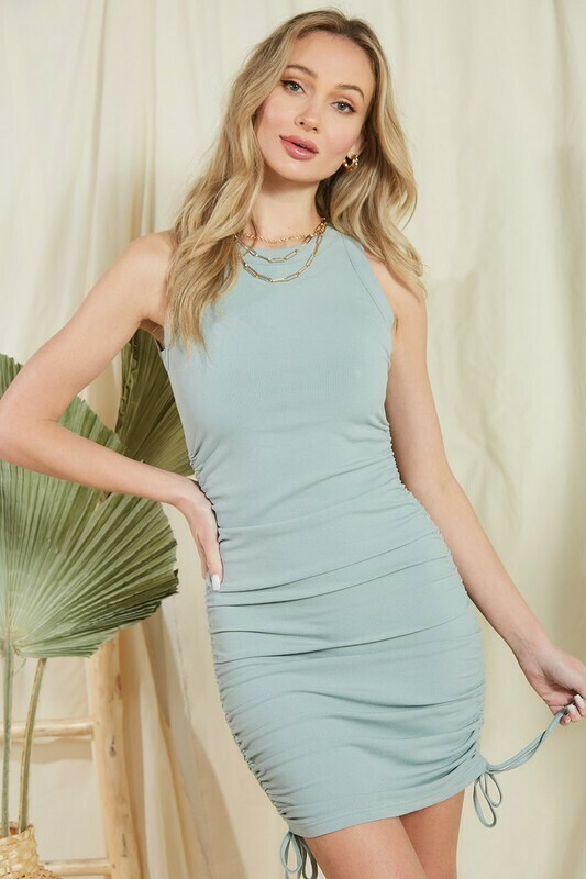 Sage Tank Dress